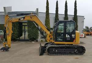 UNUSED CAT 308E2 CR EXCAVATOR WITH ALL OPTIONS AND BUCKETS