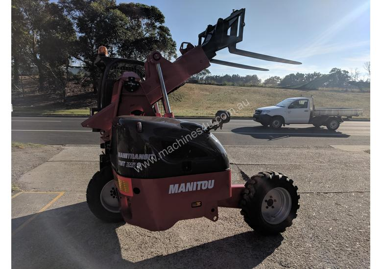 NEW MANITOU TRUCK MOUNTED FORKLIFT