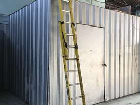 Branach Fiberglass Extension Ladder 2.7 / 3.9 Meter FED 4.0 Power Master - picture5' - Click to enlarge