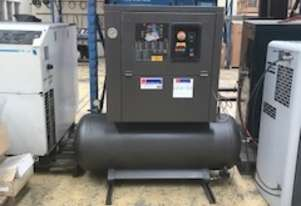FIAC 11KW EXCELLENT CONDITION RECEIVER MOUNTED SCREW COMPRESSOR