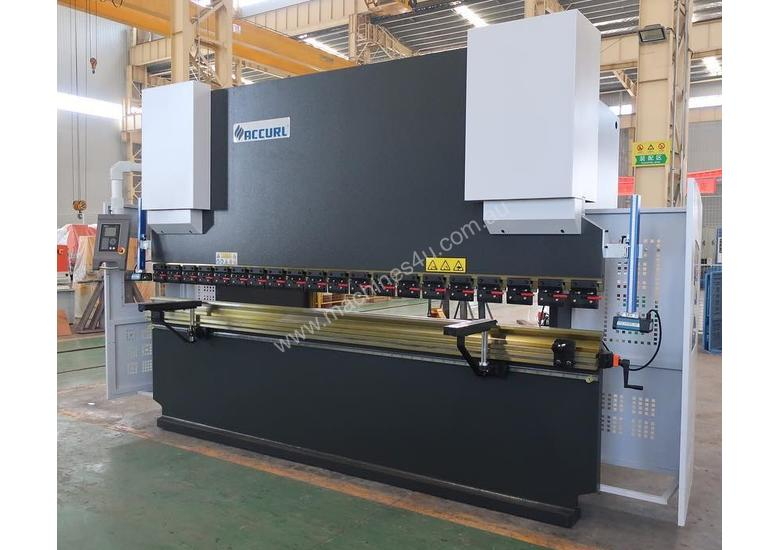ACCURL Quality NC Pressbrake With Laser Guards, Servo & Delem NC Controller