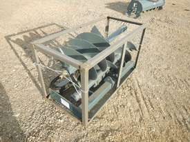 Unused 1800mm Hydraulic Auger Drive to suit Skidsteer Loader - 10419-33 - picture0' - Click to enlarge