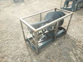 Unused 1800mm Hydraulic Auger Drive to suit Skidsteer Loader - 10419-33 - picture2' - Click to enlarge