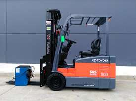 TOYOTA Economy 1.8 Tonne Counterbalance Electric Container Forklift  - picture0' - Click to enlarge