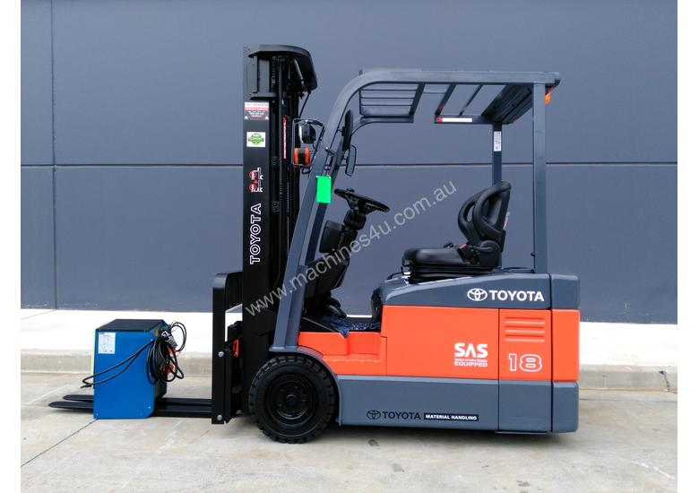 TOYOTA Economy 1.8 Tonne Counterbalance Electric Container Forklift