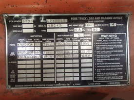 FORKLIFT Toyota, near new in excellent condition - picture1' - Click to enlarge