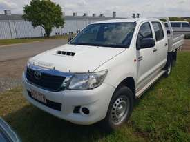 2015 Toyota Hilux KUN26R-PRADYQ (4x4) White Automatic 6sp A Dual Cab Utility - picture0' - Click to enlarge