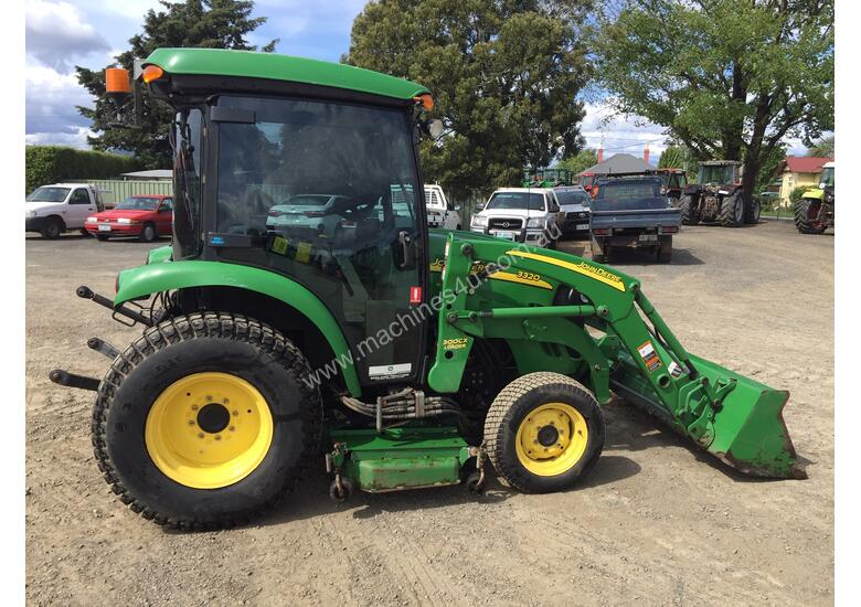 Super Used 2010 John Deere 3320 Tractors in LONGFORD, TAS Price: $35,200 @VE_74