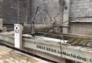 Omax   3 Axis Waterjet