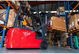 New NICHIYU THREE-WHEELER FBT20-80 counterbalance forklift