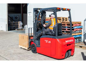 New NICHIYU THREE-WHEELER FBT20-80 counterbalance forklift - picture1' - Click to enlarge