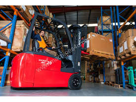 New NICHIYU THREE-WHEELER FBT20-80 counterbalance forklift - picture0' - Click to enlarge