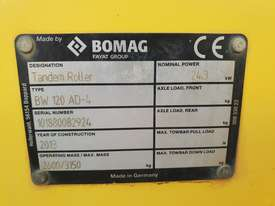 2013 BOMAG BW120AD-4 TANDEM ROLLER WITH 694 HRS - picture13' - Click to enlarge