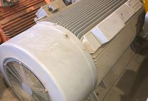 877 kw 4 pole 1493 rpm 3300 volt AC Squirrel Cage Electric Motor