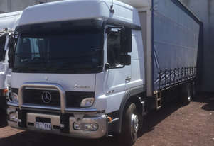 Mercedes Benz Atego Curtainsider Truck