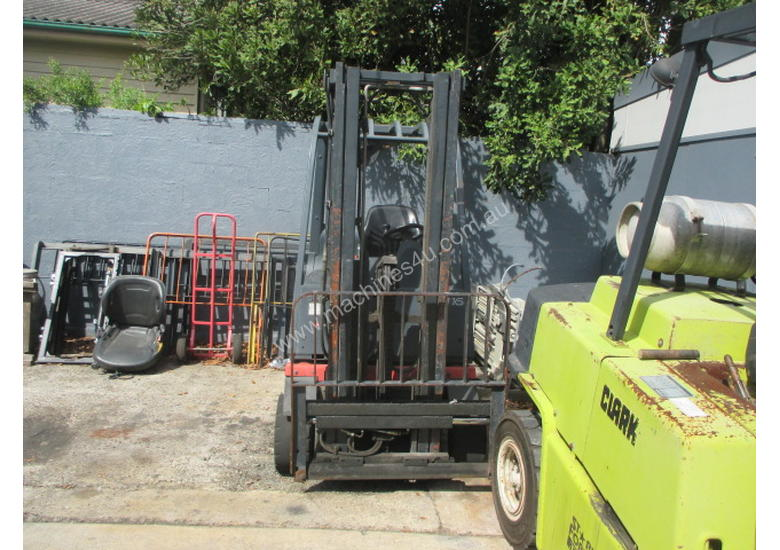 1.6 ton Linde Container Mast Used Forklift