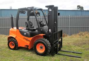 New 2019 Titan Rough Terrain 2.5 Tonne Forklift by Everun Australia