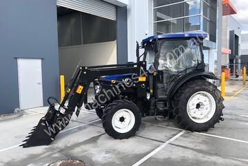 Lovol M804 Tractor, Front end Loader with 4in1