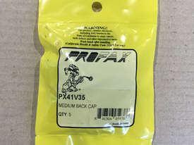 Profax Medium Back Cap TIG Torches PX41V35 Pack of 5 - picture2' - Click to enlarge