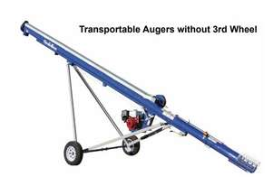GRAINLINE TRANSPORTABLE AUGER WITHOUT 3RD WHEEL