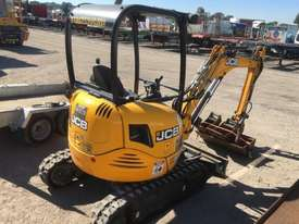 2018 JCB 8025 ZTS 2.6T MINI EXCAVATOR WITH HYD HITCH, 3 BUCKETS, RIPPER AND 135HRS. - picture2' - Click to enlarge