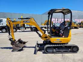 2018 JCB 8025 ZTS 2.6T MINI EXCAVATOR WITH HYD HITCH, 3 BUCKETS, RIPPER AND 250 HRS. - picture0' - Click to enlarge