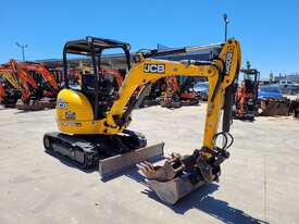 2018 JCB 8025 ZTS 2.6T MINI EXCAVATOR WITH HYD HITCH, 3 BUCKETS, RIPPER AND 250 HRS. - picture1' - Click to enlarge
