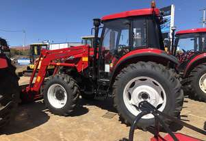 STOCK CLEARANCE YTO X904 Cab Tractor With FEL + 4in1 Bucket