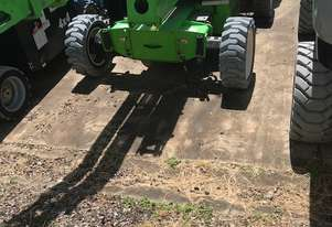 11/2012 Nifty HR21 - Lightweight 4 Wheel Drive Hybrid Powered Knuckle Boom