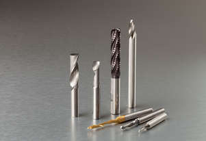 SOLID CARBIDE SINGLE FLUTE ROUTER CUTTERS - SUITABLE FOR ALL CNC PROFILE MACHINING CENTRES