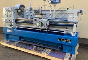 CL-510 Centre Lathe Ø510 x 1500mm Turning Capacity - Ø80mm Spindle Bore Includes Digital Readout,