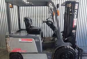 TCM 3T Electric Forklift with Container Mast