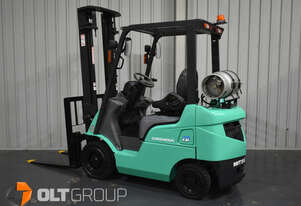 Mitsubishi 1.8 Tonne Forklift LPG EFI Engine 3700mm Lift Height Solid Tyres 7467 hours