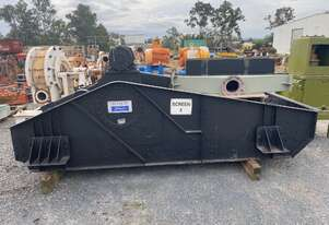 METQUIP 1500 x 3600 x 1 DECK DEWATERING SCREEN