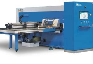 High speed turret punching with low running costs - from the experts in servo-electric punching