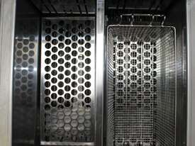 Austheat AF822 Double Pan Fryer - picture1' - Click to enlarge