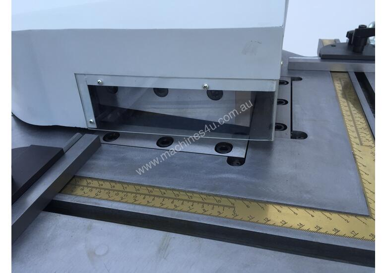 Heavy Duty Industrial 200mm x 4mm Notcher - Look at specs