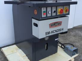 Heavy Duty Industrial 200mm x 4mm Notcher - Look at specs - picture13' - Click to enlarge