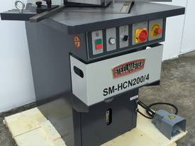 Heavy Duty Industrial 200mm x 4mm Notcher - Look at specs - picture19' - Click to enlarge