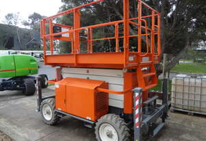 06/2018 Snorkel S3370 RT - 4 Wheel Drive Diesel Scissor Lift (hire or buy)