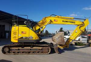 2018 SUMITOMO SH235x-6 24T EXCAVATOR WITH BLADE, CIVIL SPEC AND 3800 HRS