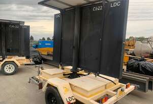 LDC Variable Message Sign Trailer