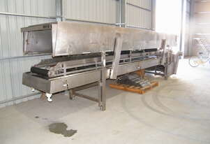 6.3 metre  snap freeze  conveyor