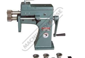 SJ-2 Swage and Jenny - Manual  1.6mm Mild Steel Thickness Capacity Includes 5 Sets Of Rolls
