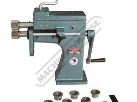 SJ-2 Swage and Jenny - Manual  1.6mm Mild Steel Thickness Capacity Includes 5 Sets Of Rolls - picture0' - Click to enlarge