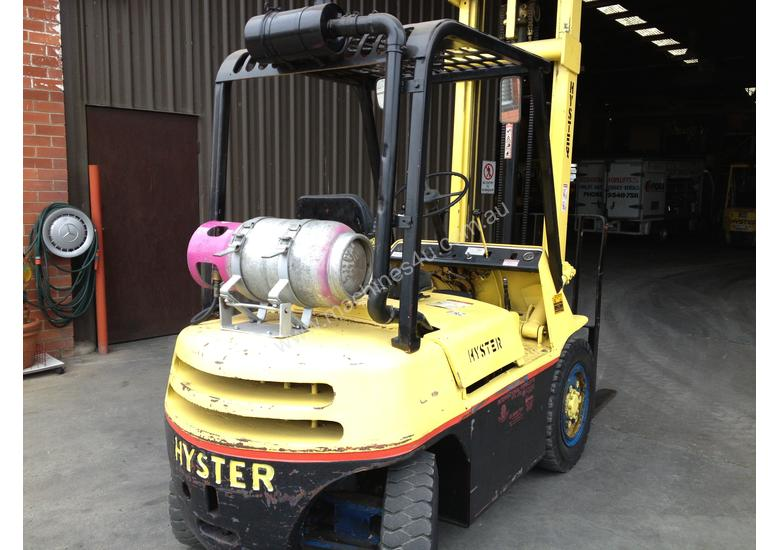 hyster forklift manual h50h