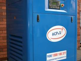 German Rotary Screw - 25hp / 18.5kW Air Compressor - picture8' - Click to enlarge