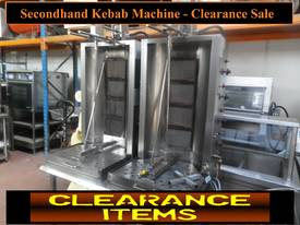 Secondhand kebab Machines, Friges, Mixers - Sale - picture0' - Click to enlarge