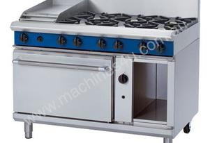 Blue Seal Evolution Series G508C - 1200mm Gas Range Static Oven