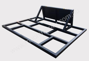 Skid Steer 1.5 m Level Spreader / Smudge Bar